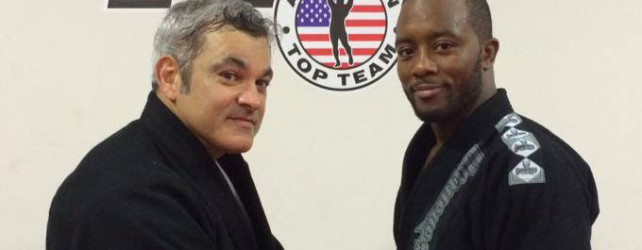 Great seminar with Master Liborio – and I got my brown belt!