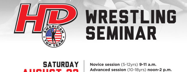 Back to School Wrestling Seminar at American Top Team HD!